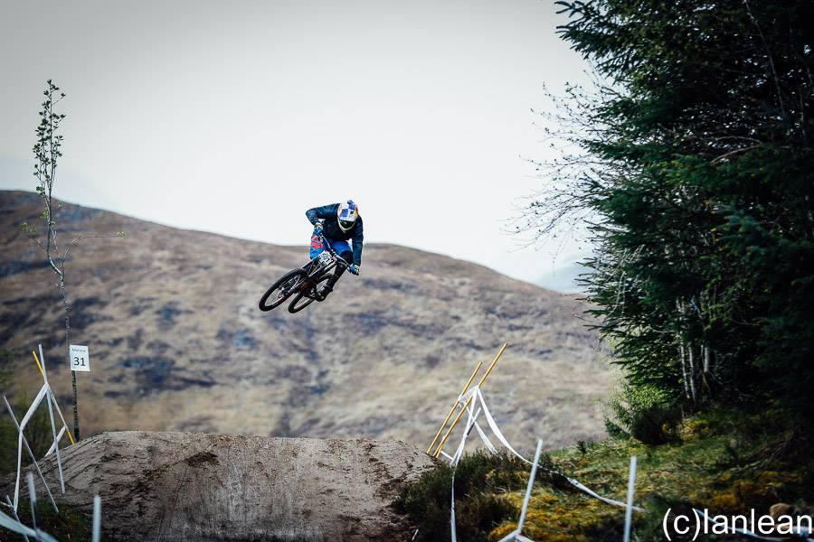 Kye Forte British Downhill Series