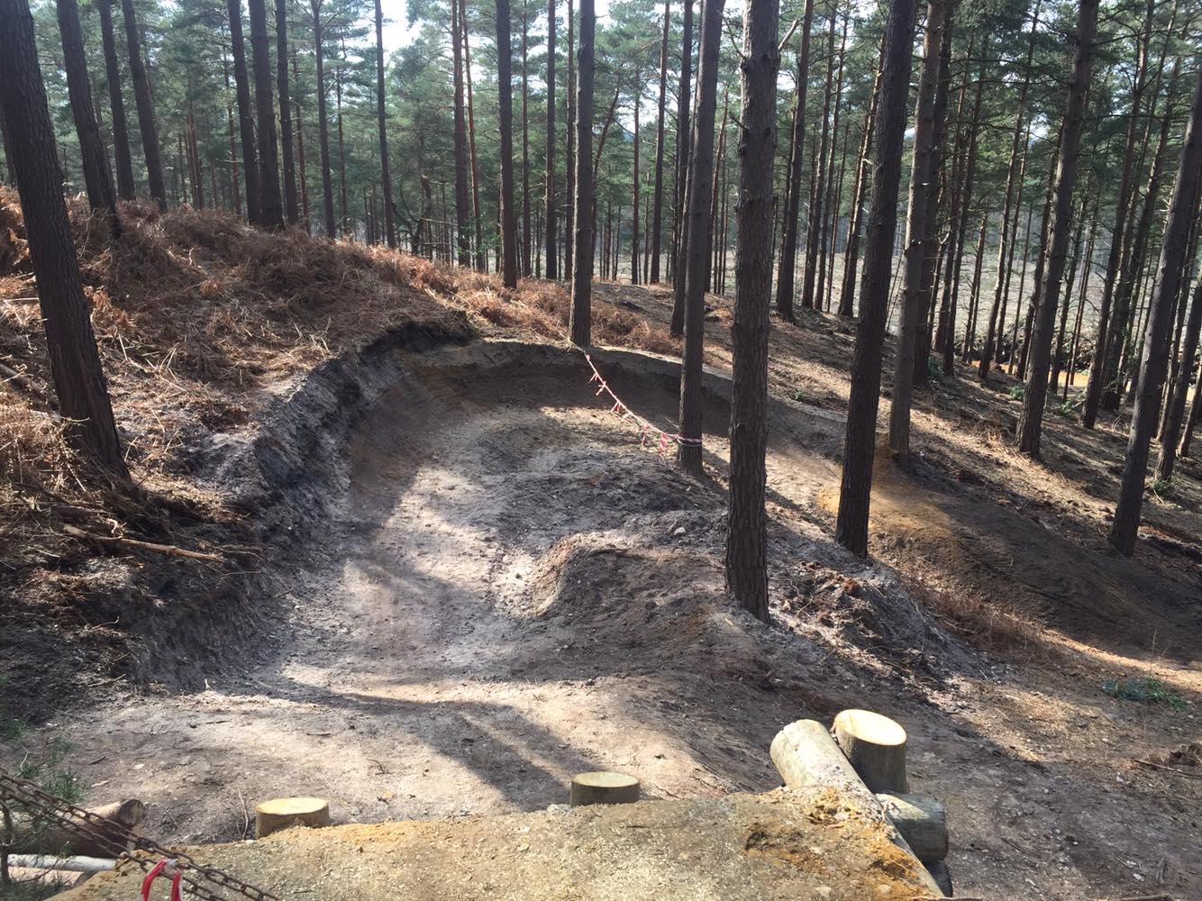 Sneak Peak Swinley Forest Freeride Area