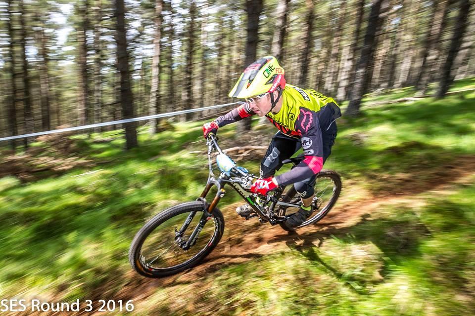 Chris Hutchens Team Wideopenmag Scottish Enduro Series Nukeproof Mega Glenlivet Mountain Bike Centre No Fuss Events