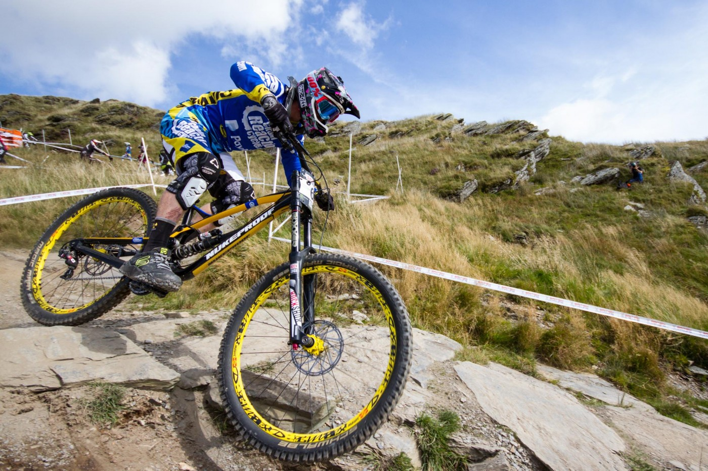 Team Chain Reaction Cycles PayPal Enduro World Series UCI Downhill World Cup Sam Hill Elliott Heap Joe Smith Nukeproof Pulse Mega Wideopenmag