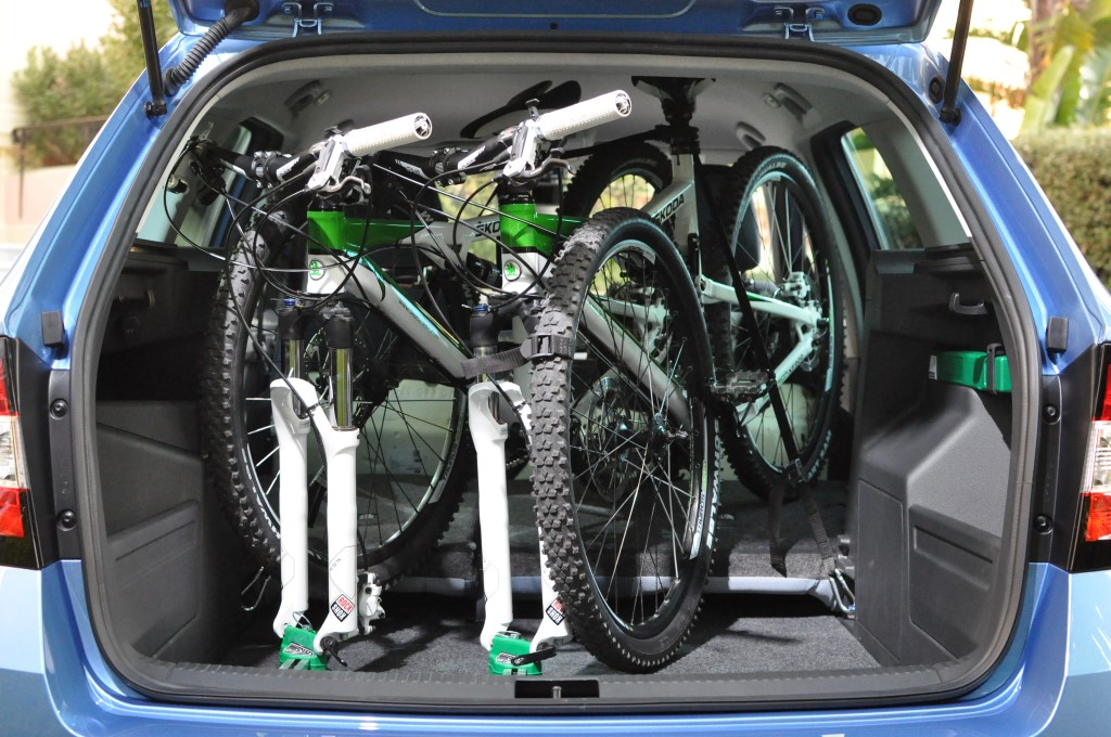 Building A Bike Carrier For Inside An Estae Car