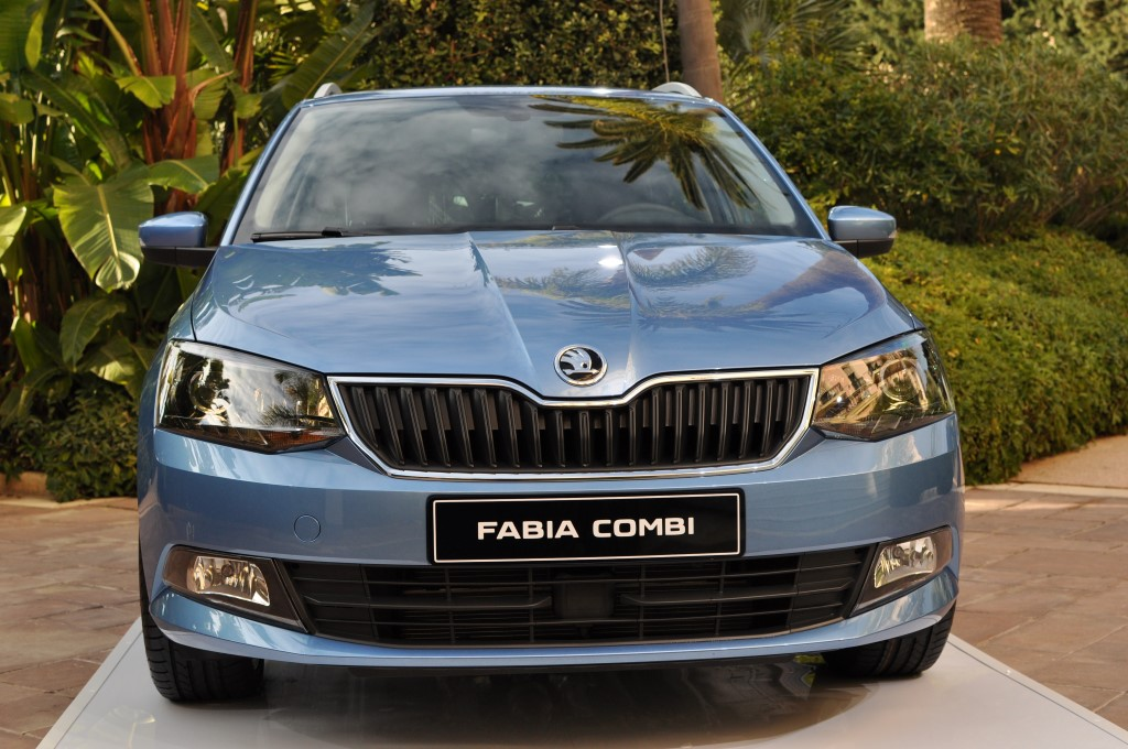 We Travelled To France To Meet The New 2015 Skoda Fabia Combi