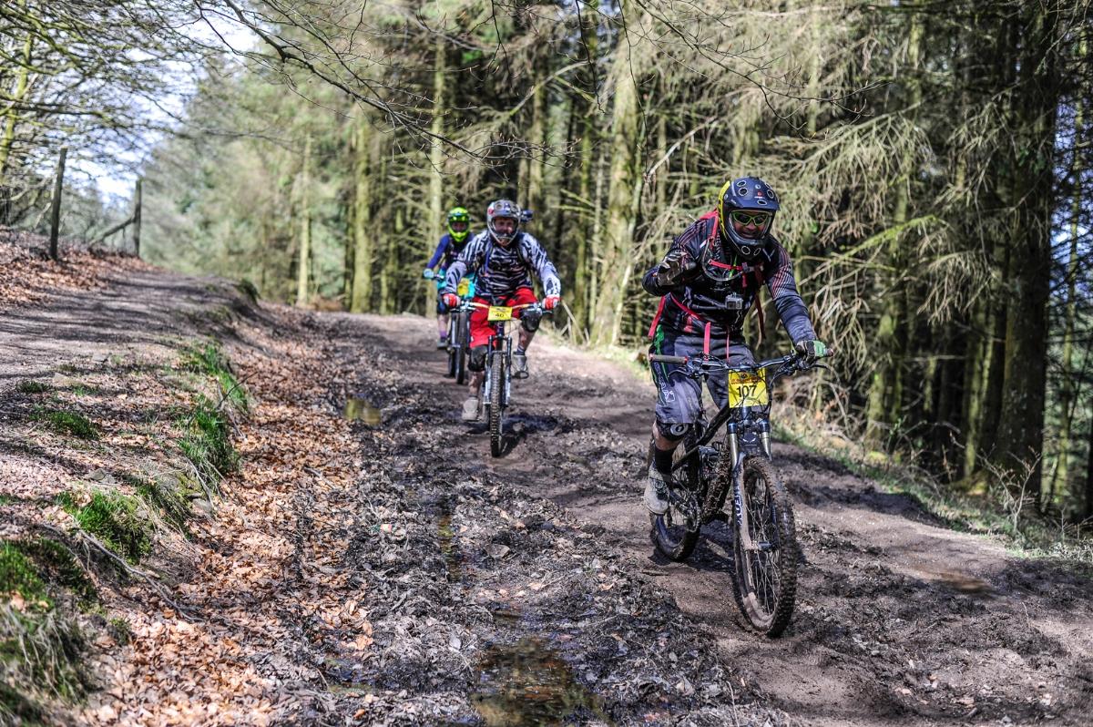 UK Enduro Triscombe Enduro Racing Dan Wyre Photograhpy