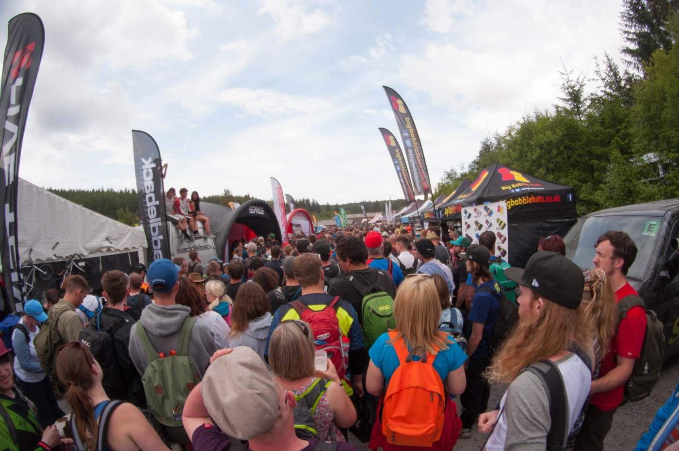UCI Downhill World Cup Fort William Wideopenmag Morganne Charre
