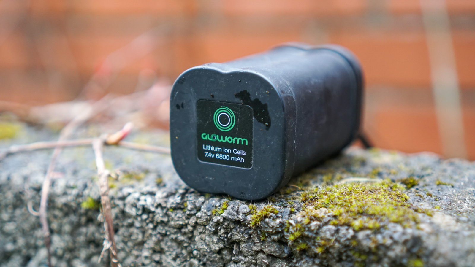Gloworm mountain bike light battery