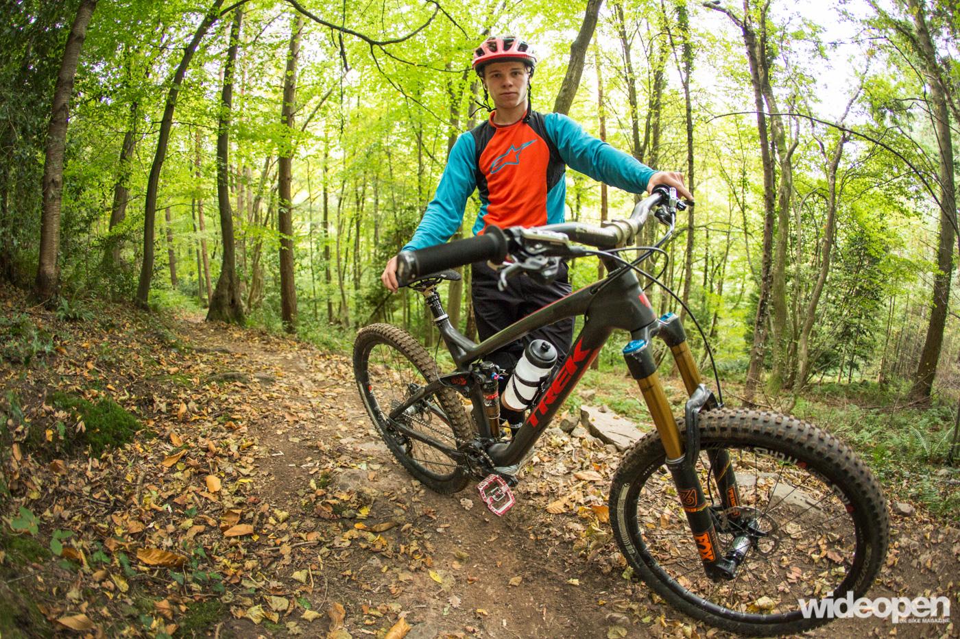 Laurie Greenland Trek trail bike Leigh Woods Bristol for Wideopenmag interview