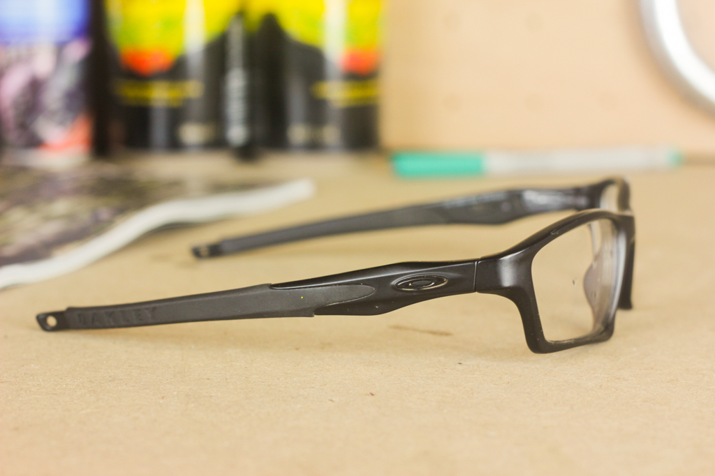 Reviewed: Oakley Crosslink Sweep glasses with RXSport prescription lens