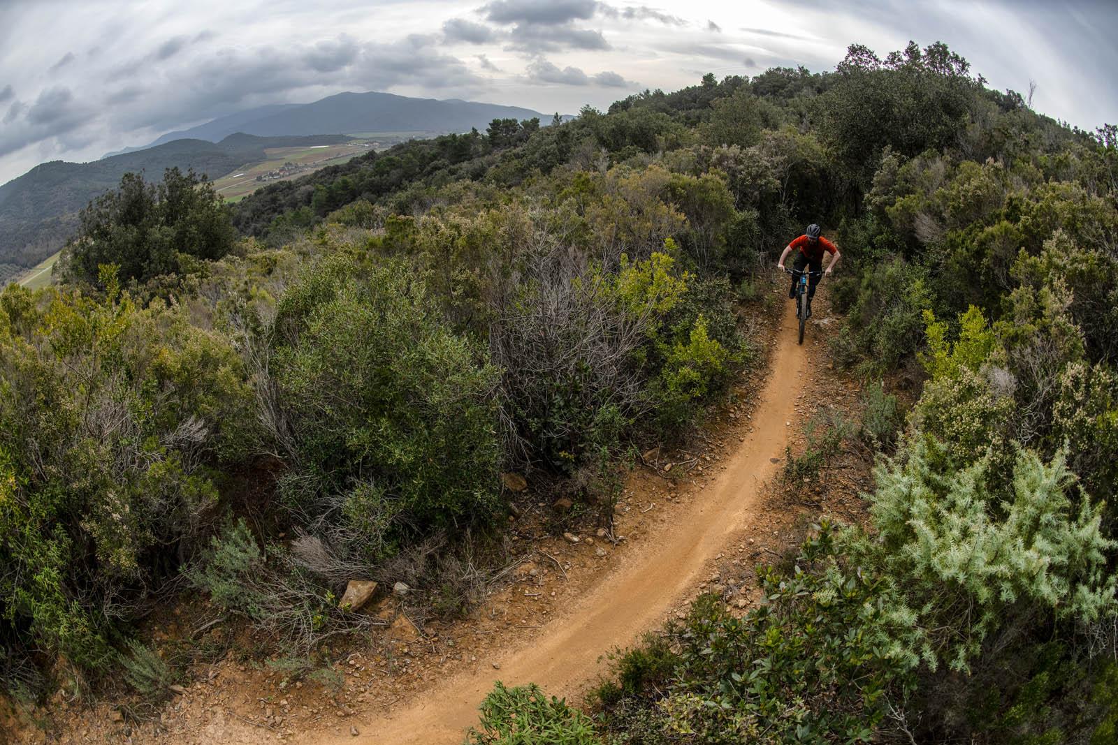 Orange Five 2020 review Wideopenmountainbike 17 Punta Ala Trail Centre