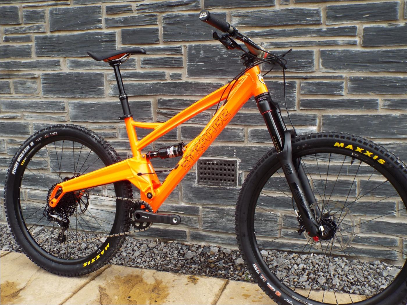 2017 orange bikes launch at bike park wales. Black Bedroom Furniture Sets. Home Design Ideas