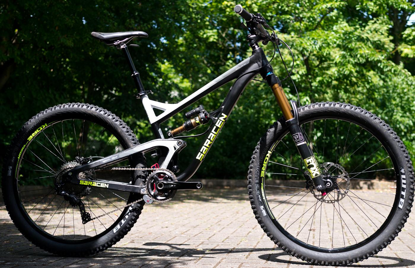 2016 Saracen Bikes Myst Kili Flyer Ariel And Mantra