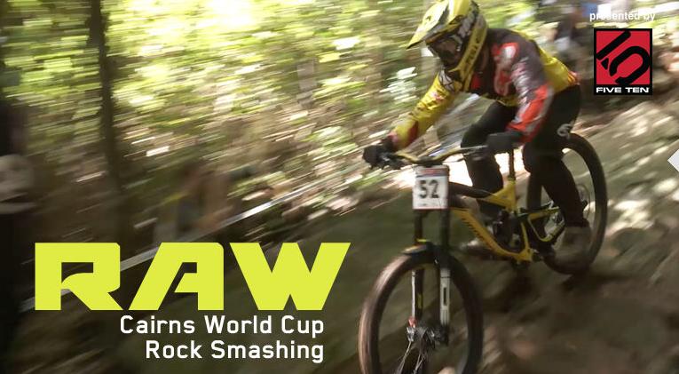 Vital MTB Vital RAW UCI Downhill World Cup Cairns Australia