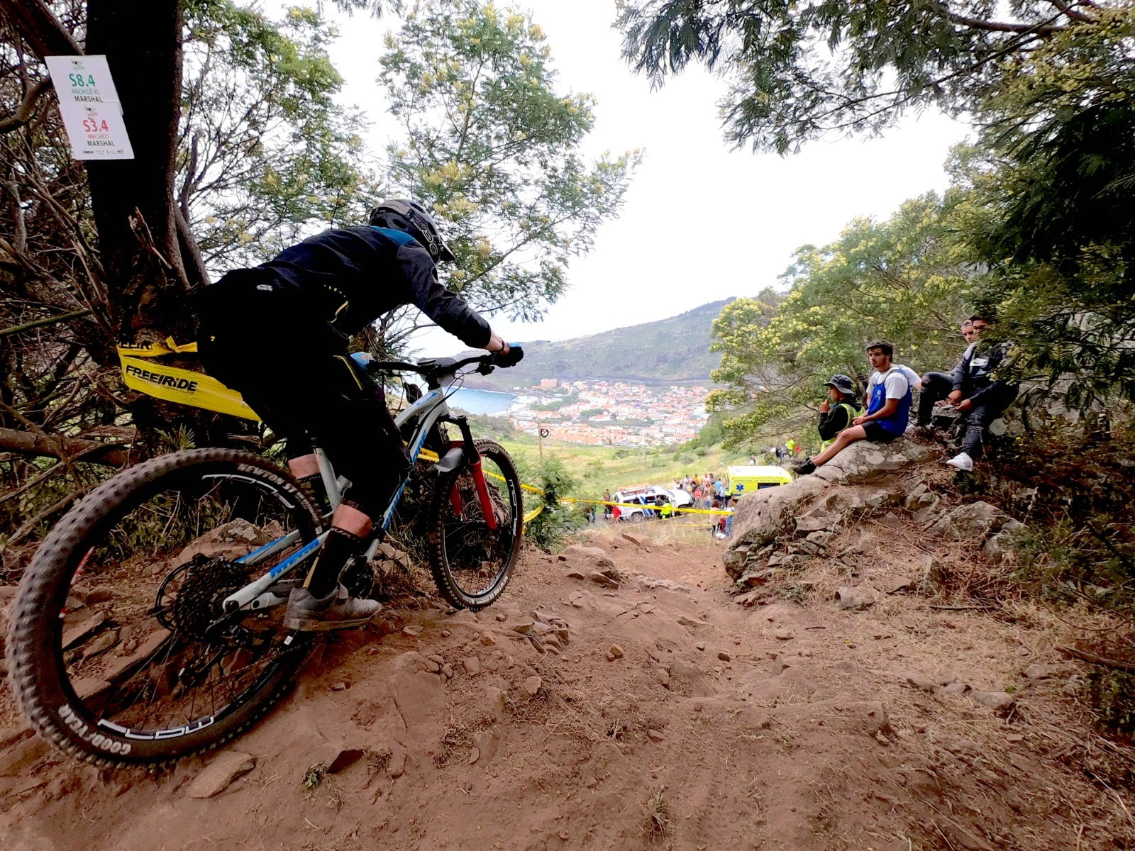 Team Wideopenmag's Christo Gallagher Enduro World Series Madeira 2019 (1)