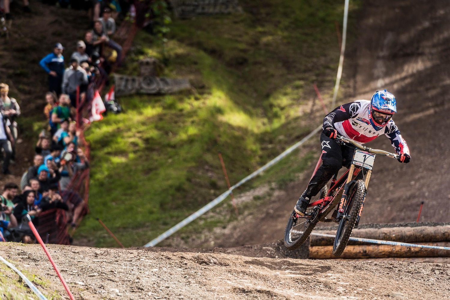 Aaron Gwin YT Industries YT Mob UCI Downhill World Cup Leogang Austria Red Bull Bike