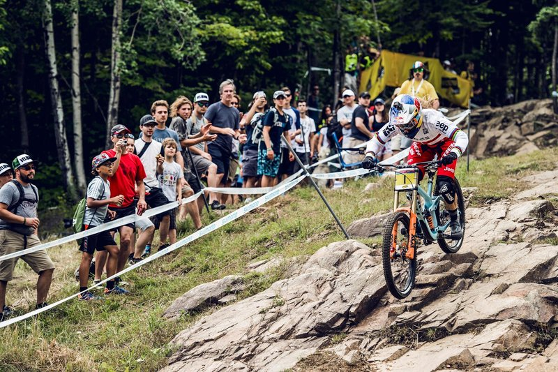 UCI Downhill World Cup 2016 Mont Sainte Anne Canada Red Bull Rachel Atherton Trek Factory Racing Wideopenmag