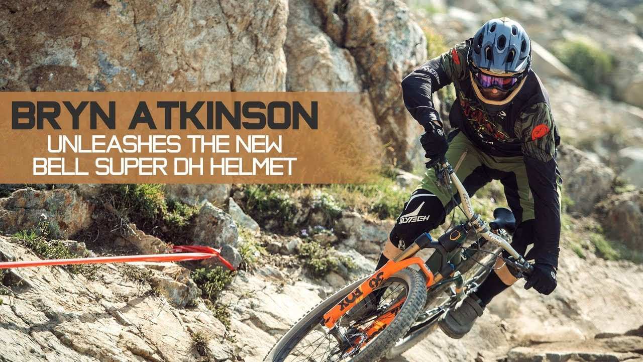 The New Bell Super Dh Two Helmets In One