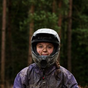 Elin Berry mountain bike racer