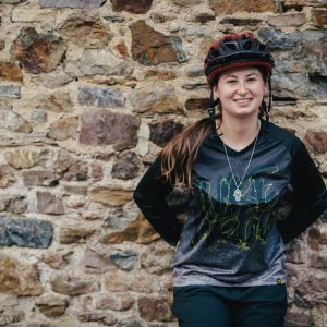 Nukeproof Clothing RideWear BlackLine kit Natasha Bradley