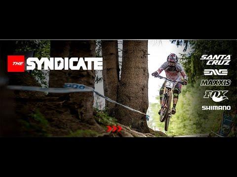 Santa Cruz Cycles Santa Cruz Syndicate Lenzerheide UCI Downhill World Cup Switzerland Josh Bryceland Greg Minnaar Steve Peat V10c Wideopenmag