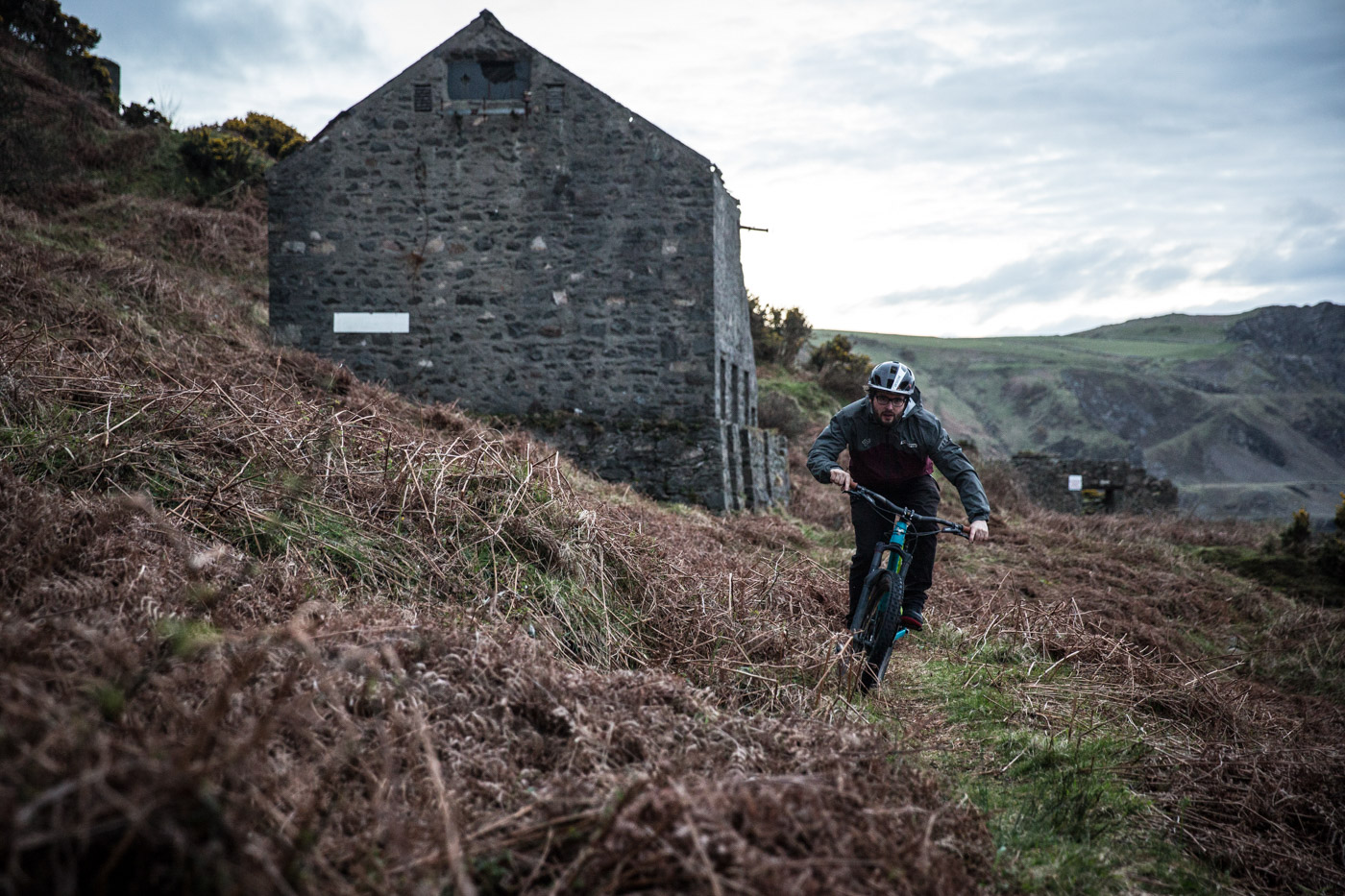 nukeproof mega comp 275 nant gwrtheyrn mountain biking
