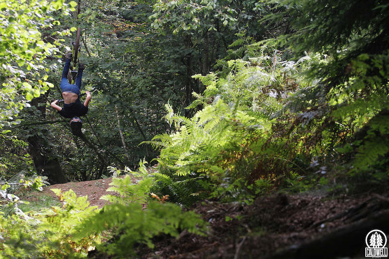 Joel Anderson back flipping the 2016 Corsair Konig at Triscombe. Full review coming soon.
