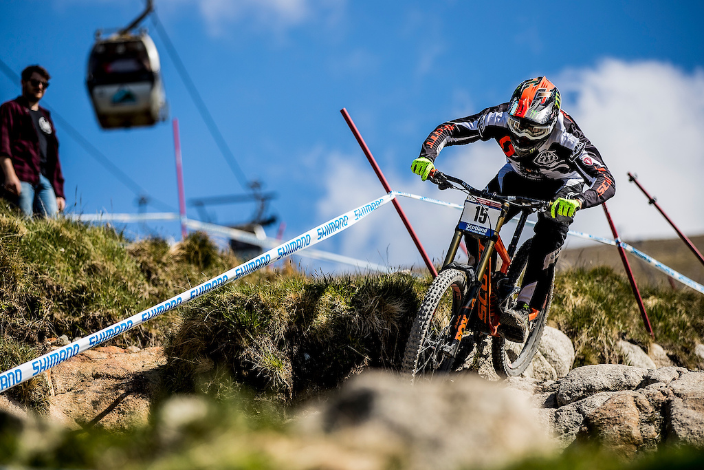 Brendan Fairclough Gstaadd Scott UCI Downhill World Cup Leogang Fort William