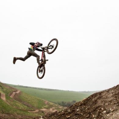 woody's bike park jumps